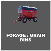 forage and grain bins