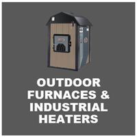 outdoor furnaces and industrial heaters