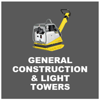 general construction equipment and light towers