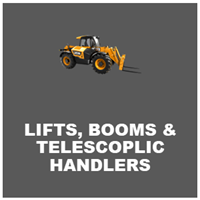 lifts, booms and telescopic handlers